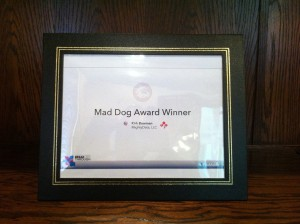 Mad Dog Award