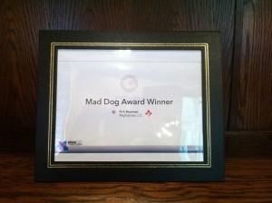 Mad Dog Award