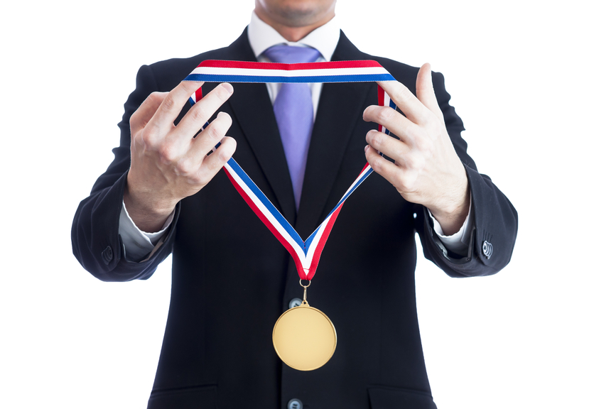 Gold medal for project champion