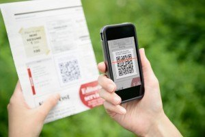 iPhone scanning barcode