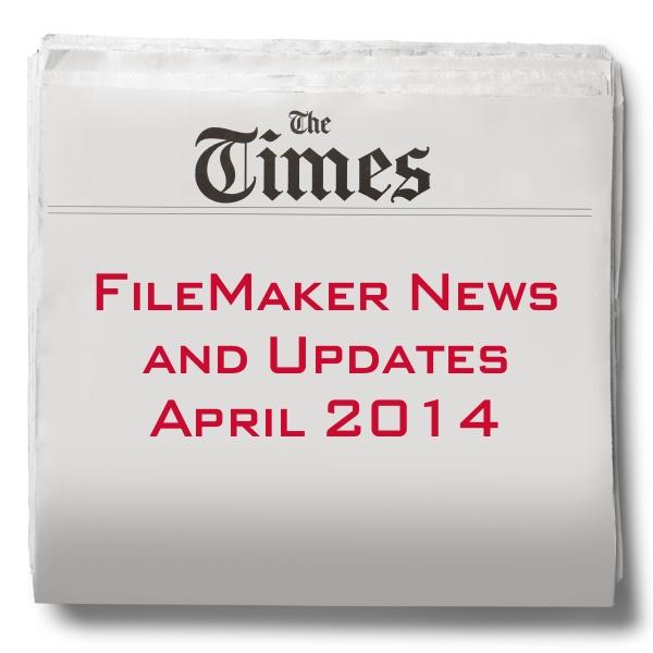FileMaker news April 2014